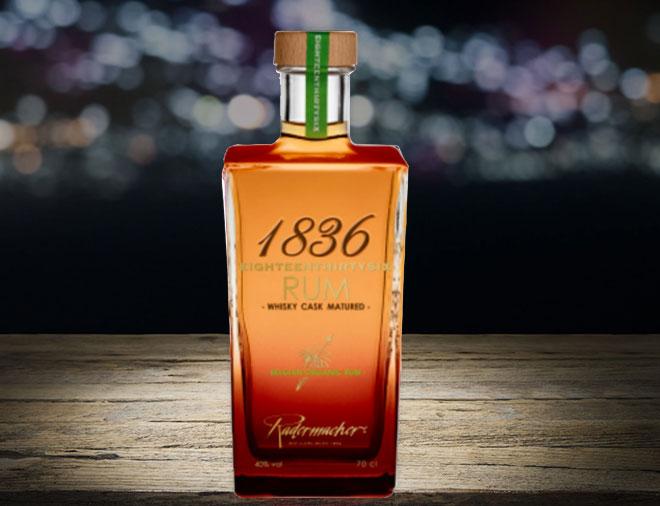 1836 Organic Rum from Belgium