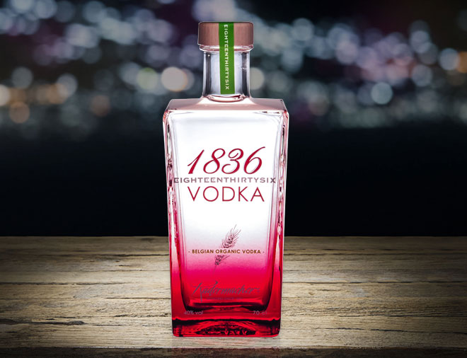 1836 VODKA FROM BELGUM