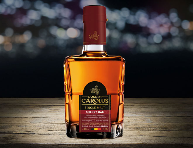 Gouden Carolus sherry oak whiskey