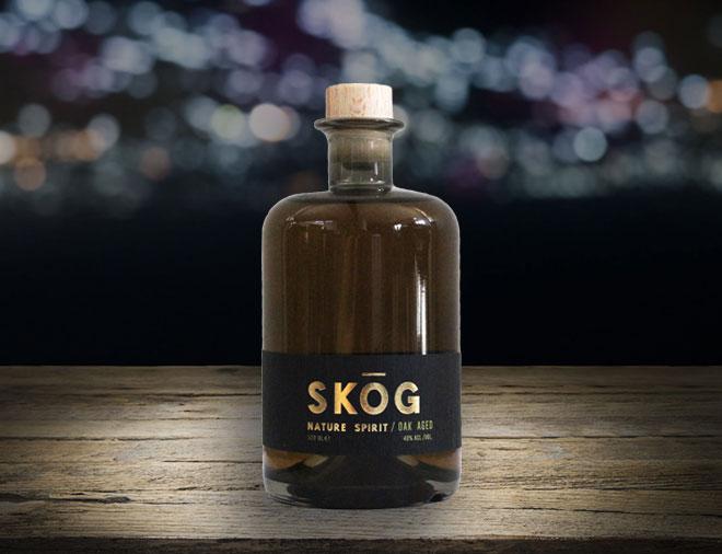 SKOG Gin Oak Aged