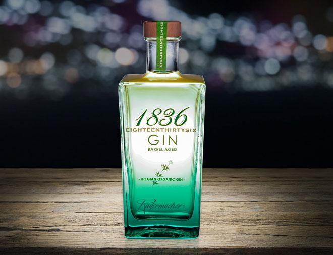 Barrel Aged organic Gin