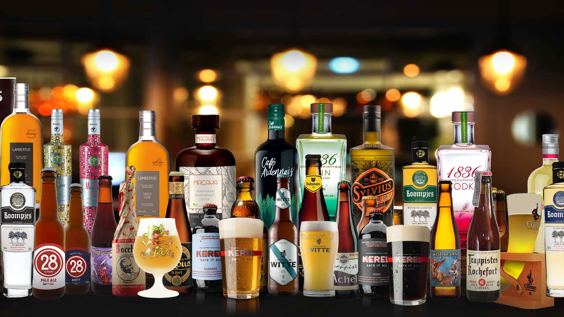 belgian beers and spirits wholesale in Thailand