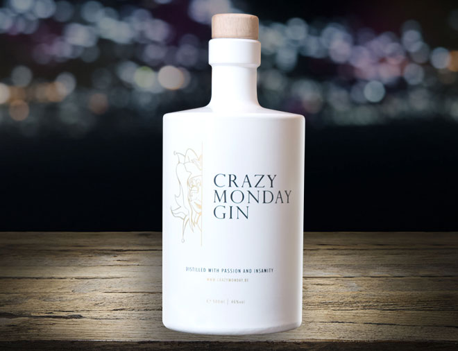 Crazy Monday Gin from Belgium