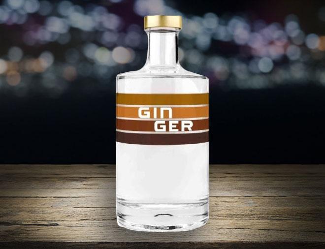 Gin ger london dry gin