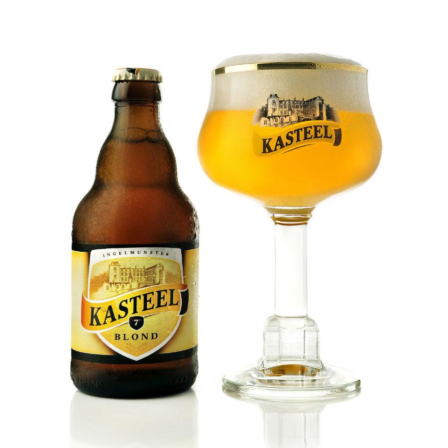 Kasteel Blond belgian beer in stock