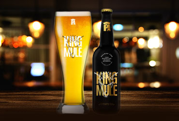 King mule Ipa belgian beer