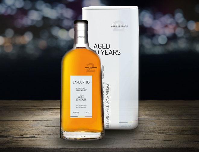 Lambertus Premium belgian whisky aged 10 years