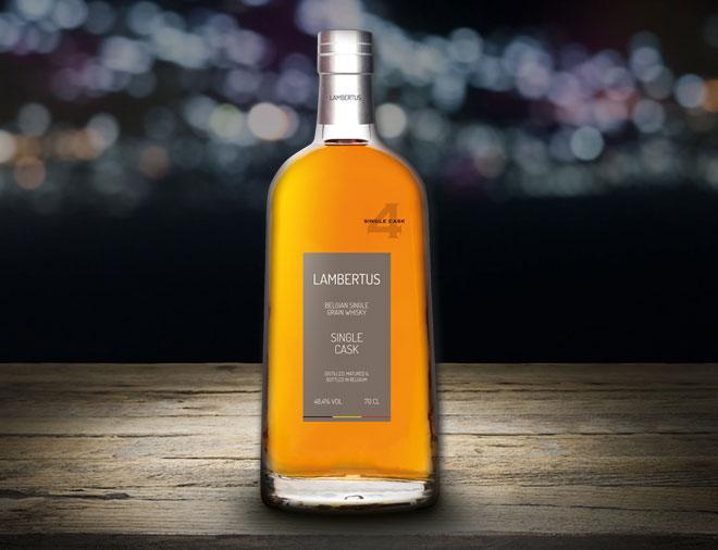 Lambertus premium belgian whisky single cask