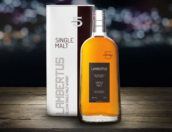 Lambertus premium belgian whisky single malt